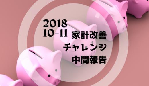 【10-11月②】家計見直し中間報告