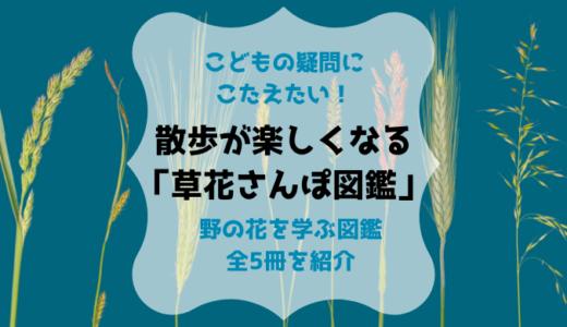 『子どもと一緒に見つける 草花さんぽ図鑑』を購入!雑草に詳しくなる全5冊を紹介