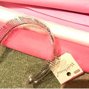 キュアグレースのなりきり衣装を100均材料で作ってみたbyきんいろびより