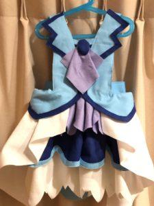 キュアフォンテーヌのなりきり衣装を100均材料で作ってみたbyきんいろびより