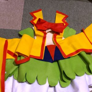 ヒーリングっど♡プリキュアのキュアスパークル風衣装手作りしてみたbyきんいろびより